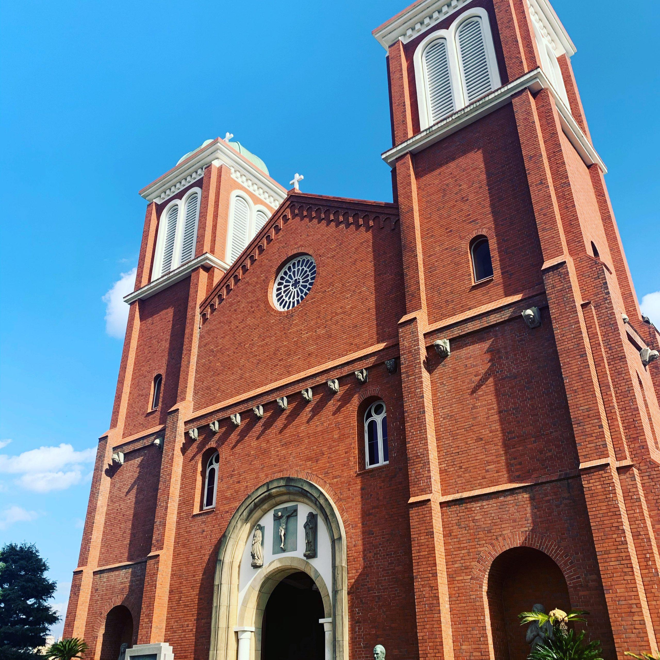 浦上教会正面写真